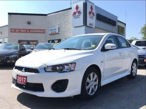 2017 Mitsubishi Lancer ES 0.9% finance (REARVIEW CAMERA, HEATED