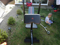 Weight bench and Gym equipment