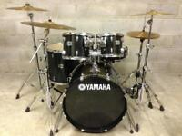 Almost new Yamaha Stage Custom drum kit Zildjian Cymbals Stands pedal drums