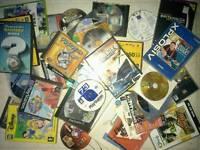 Various computer software and games joblot