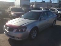 2005 Nissan Altima 2.5 S/loaded/138 km only