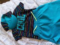 Children's swim suits and wetsuit