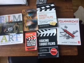 Filmmaking collection of books