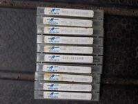 GOLIATH M5 (5mm) x 0.8mm SECOND TAPER HAND TAPS