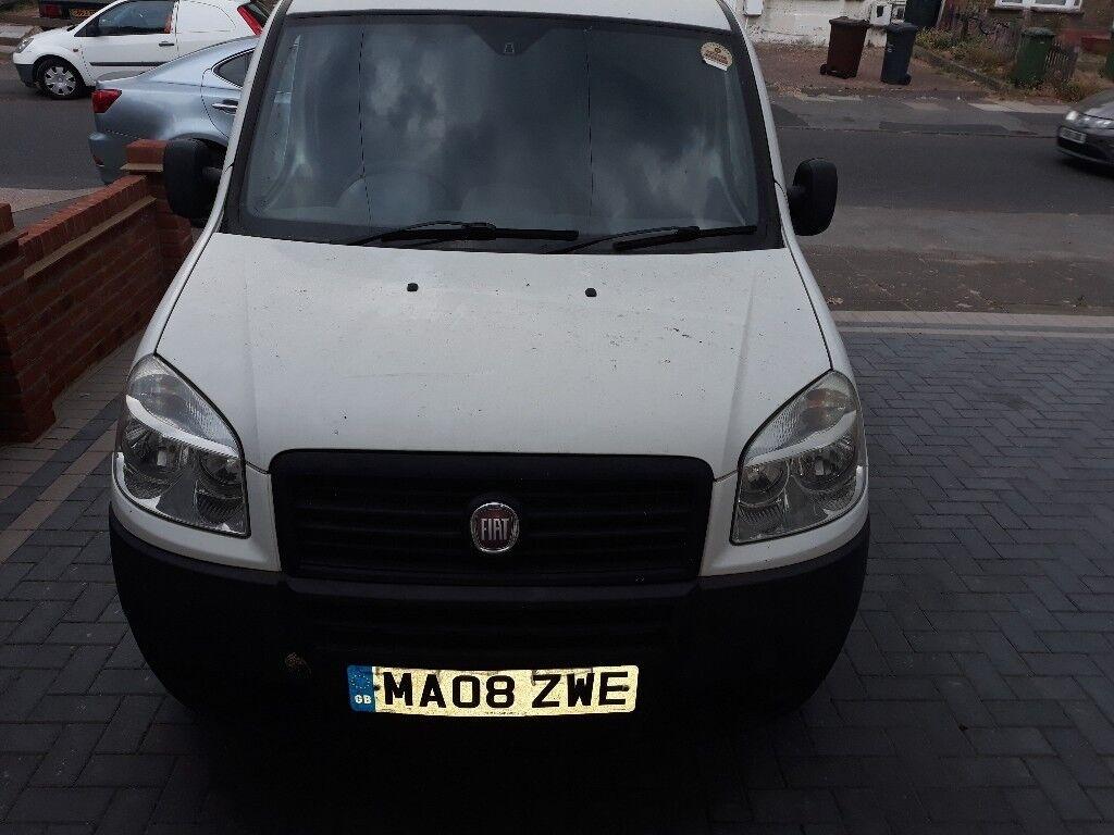 2008 Fiat Doblo Cargo Diesel Manual Good Van Engine Running Good £1450
