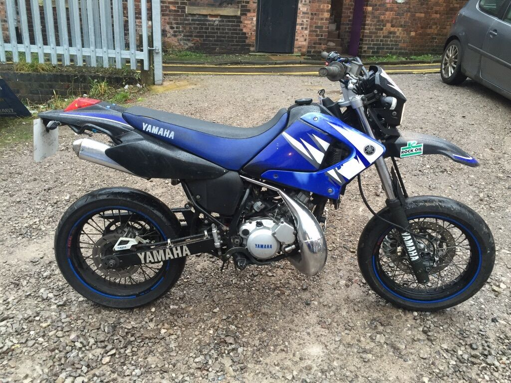 yamaha dt125 2007 supermoto 2 stroke x 12 months m o t dtr in stoke on trent. Black Bedroom Furniture Sets. Home Design Ideas