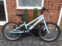 Halfords Trax TR20 girls bike (6-9yrs)