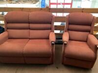 Sherborne 2 seater Settee and Single Chair