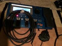 Roland GR55 and Gk3 Guitar synth and pickup