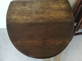 Drop leaf Gate legged antique table