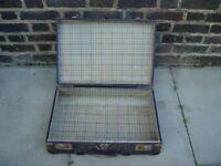 FREE DELIVERY Vintage Suitcase Retro Mid Century