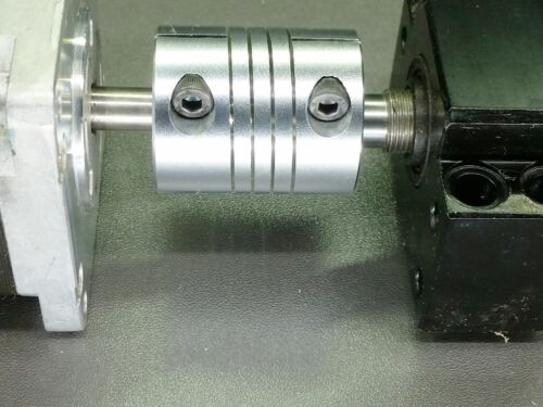 "1/2"" x 5/8"" Flexible Ballscrew Motor Shaft Clamp Coupler Coupling Linear Motion"