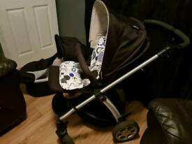 Mamas and Pappas pushchair set