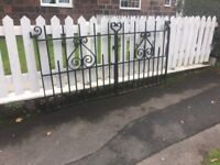 Extremely Well Built, Solid Steel Driveway Gates / Can Deliver call malc