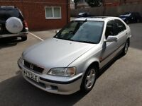 HONDA CIVIC 1.6 VTEC SE LOW MILEAGE FULL SERVICE HISTORY 1 OWNER FROM NEW