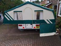 WANTED PENNINE< CONWAY & TRIGANO FOLDING CAMPERS trailer tent