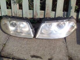 Vw Passat headlights