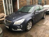 2009 VAUXHALL INSIGNIA 2.0 CDTI SRI 160BHP HATCHBACK GREY DAMAGED SALVAGE REPAIRABLE