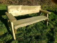 Heavy-duty garden benches