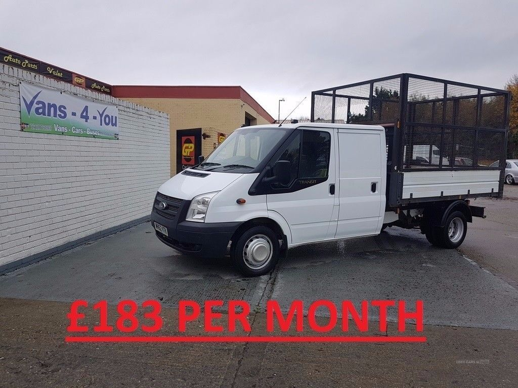 528a6b199d 2012 ford transit 350 cage tipper crew cab see picture only home from the  uk full test belfast derry. Londonderry ...