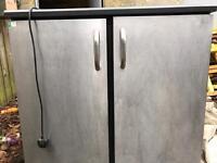 Industrial under counter fridge.