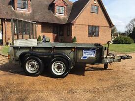 Ifor Williams GD85 General Duty Plant Trailer - 2700kg gross holding weight - Twin Axle