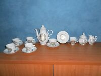 Vintage Japanese Coffee Set, 15 Pieces