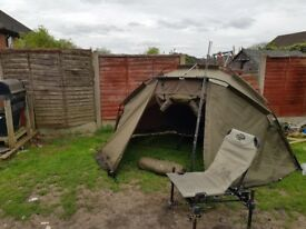 Fishing bivvy and accessories