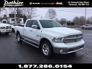 2016 Ram 1500 Laramie | LEATHER | SUNROOF | MUDFLAPS |
