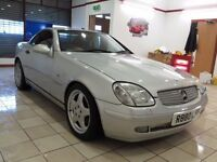 !!17 SERVICE STAMPS!! MERCEDES SLK 230K / AUTO / TITAN SILVER / LONG MOT MAY 2017 / MUST SEE