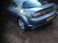 mazda rx8 2003 , new mot lovely car