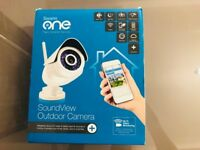 BRAND NEW SWANN ONE SOUNDVIEW OUTDOOR CAMERA DAY & NIGHT REMOTE MOBILE VIEWING