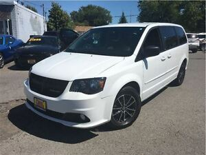 2014 Dodge Grand Caravan SE/SXT RARE BLACKTOP EDITION TV/DVD