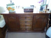 Sideboard Wood 4 drawers and 2 cupboards