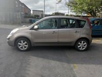 Nissan NOTE 07 MOT October