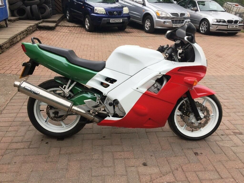 new concept 9db0f af036 Honda CBR 600 1991 RETRO styled bike ONE OFF Italian Tri Colour  red white green pearl HEADTURNER !!