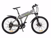 "Superb Electric Mountain Bike 250W 26"" Alloy Frame & Wheels, Shimano Gears, Li-ion 10Ah Battery"