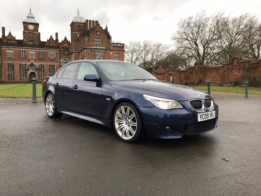 2009 09 bmw 530d m sport business edition auto e60 lci 3 0l 525d 535d 330d in sutton. Black Bedroom Furniture Sets. Home Design Ideas
