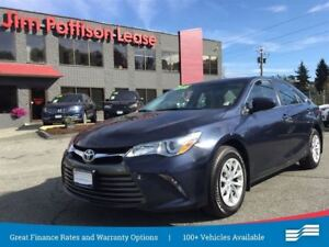 2016 Toyota Camry LE w/rear cam