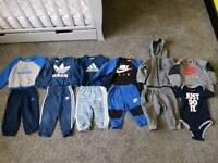 Nike Adidas baby boy clothes bundle