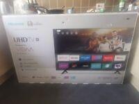 Hisense 58 inch 4K UHD Smart TV, Brand New unused, Model 58A7100FTUK