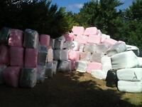 Haylage bales 3 foot quads