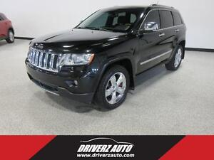 2012 Jeep Grand Cherokee Overland OVERLAND TRIM, BLIND SPOT M...