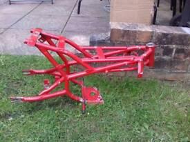Blata mini moto frame