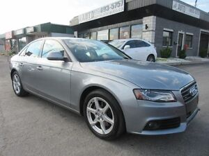 2009 Audi A4 AWD automatic, heated seats, sunroof, leather