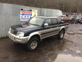 breaking for spares Mitsubishi l200 2.5 2004