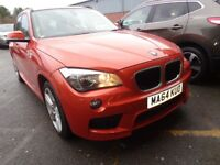 BMW X1 sDrive 18d M Sport 5dr Step Auto (orange) 2014