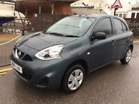 2014 NISSAN MICRA 1.2 VISIA PETROL LOW MILEAGE 12000 HPI CLEAR ONE YEAR MOT 2 OWNER