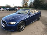 Bmw 320d M Sport Convertible / AUTOMATIC / Sat Nav With Live TV / Low Mileage FSH / E93 / Px Swaps