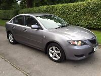 A REALLY GOOD MAZDA 3 AUTO WITH LONG MOT (STOCK CLEARANCE BARGAIN)